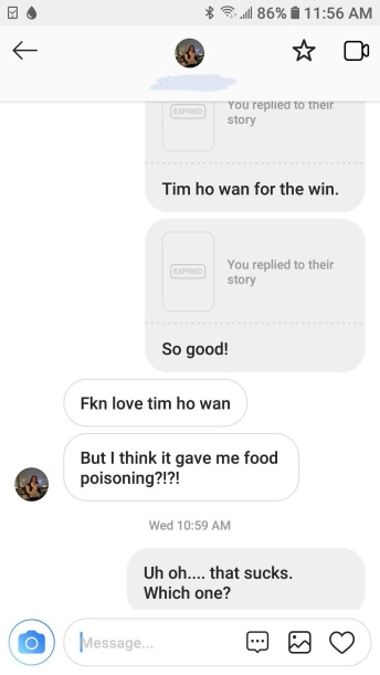 Mixed results of Tim Ho Wan...